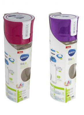 butelka filtrująca wodę z filtrem węglowym