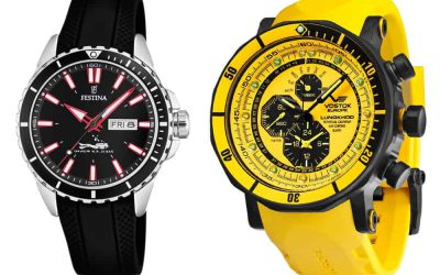 Zegarek do pływania i nurkowania